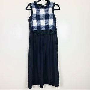 Sea New York Wool Cashmere Sweater Vest Dress
